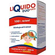 LiQuido DUO FORTE šampon na vši 200ml+sérum - Vlasová kúra