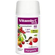 PargaVit Vitamin C Mix Plus pro děti tbl.90 - Doplněk stravy