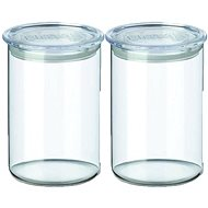 SIMAX Set of Clear Glass Jars, 2pcs, 0.8l,  5152/L - Container