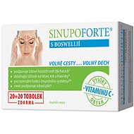 SINUPO Forte 20 + 20 Capsules Free - Dietary Supplement