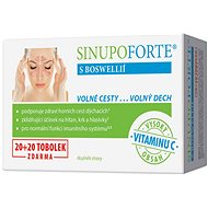 SINUPO Forte with Boswellia 20 + 20 Capsules - Dietary Supplement