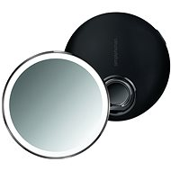 Simplehuman Sensor Compact kapesní, černé - Kosmetické zrcátko