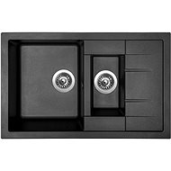 SINKS CRYSTAL 780.1 Metalblack - Dřez