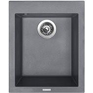 SINKS CUBE 410 Titanium - Granitový dřez