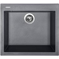 SINKS CUBE 560 Titanium - Granitový dřez