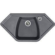 SINKS NAIKY 980 Titanium - Granitový dřez
