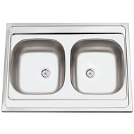 SINKS CLP-A 800 DUO M 0,5mm matný - Dřez