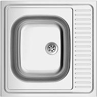 SINKS CLP-D 600 M 0,5mm matný - Nerezový dřez