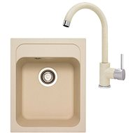 SINKS CLASSIC 400 Sahara + MIX 35 - 50 Sahara - Set