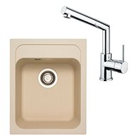 SINKS CLASSIC 400 Sahara + MIX 350 P lesklá - Set