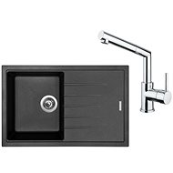 SINKS BEST 780 Granblack + MIX 350 P lesklá - Set