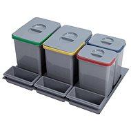 SINKS  PRACTIKO 800 2x15l+2x7l - Odpadkový koš