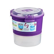 Sistema Lunch Stack To Go Purple Online 965ml (3) - Dóza