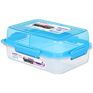 Sistema Lunch Stack Rectangle To Go Blue Online 1.8L  (4) - Dóza