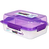Sistema Lunch Stack Rectangle To Go Purple Online 1.8L  (4) - Dóza
