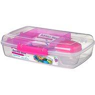 SISTEMA 1.76L Bento Box To Go Pink Online Range