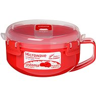 SISTEMA 850ml Microwave Breakfast Bowl - Container