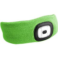SIXTOL 45lm, nabíjecí, USB, univerzální velikost, fluorescentní zelená
