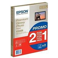 Epson Premium Glossy Photo A4 15 list + druhé balení papíru zdarma - Fotopapír