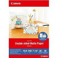 Canon Double Matte Photo Paper MP-101D 7x10 - Fotopapír