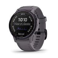 Garmin Fenix 6S Pro Solar Amethyst Steel/ Shale Gray Band - Chytré hodinky