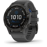 Garmin Fenix 6 Pro Solar, Black, Slate Grey Band