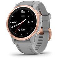 Garmin Fénix 6S Sapphire, RoseGold/Gray Band - Chytré hodinky