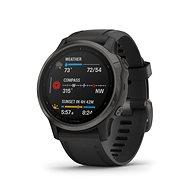 Garmin Fénix 6S Sapphire, Carbon Gray DLC/Black Band - Chytré hodinky