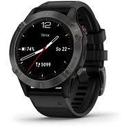 Garmin Fénix 6 Sapphire Black/Black Band - Chytré hodinky