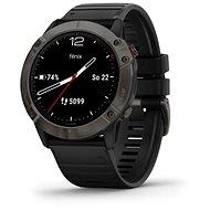 Garmin Fénix 6X Sapphire, Carbon Gray DLC/Black Band - Chytré hodinky