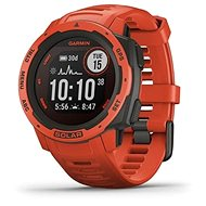 Garmin Instinct Solar Flame Red - Chytré hodinky