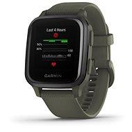 Garmin Venu Sq Music Slate/Green Band - Chytré hodinky