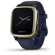 Garmin Venu Sq Music LightGold/Blue Band