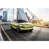 Škoda Vision E - Electric car