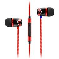 SoundMAGIC E10C červená - Sluchátka s mikrofonem