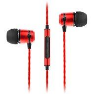 SoundMAGIC E50C červená - Sluchátka
