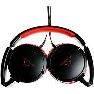 SoundMAGIC P21 černo-červená - Sluchátka