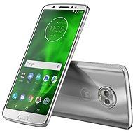 Motorola Moto G6 Stříbrná - Mobilní telefon