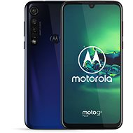 Motorola Moto G8 Plus modrá - Mobilní telefon