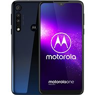 Motorola One Macro modrá - Mobilní telefon