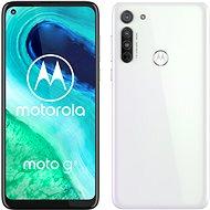 Motorola Moto G8 64GB Dual SIM bílá - Mobilní telefon