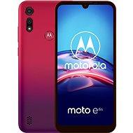Motorola Moto E6s 32GB Dual SIM červená - Mobilní telefon