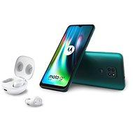 Motorola Moto G9 Play 64GB zelená + Moto Buds - Mobilní telefon
