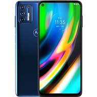 Motorola Moto G9 Plus 128GB modrá - Mobilní telefon