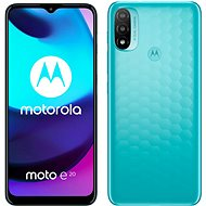 Motorola Moto E20 modrá - Mobilní telefon