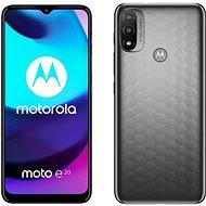 Motorola Moto E20 šedá - Mobilní telefon