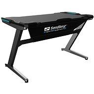 Sandberg Fighter Gaming Desk černo/šedá - Herní stůl