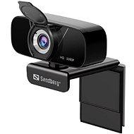Sandberg USB Chat Webcam 1080P HD, černá