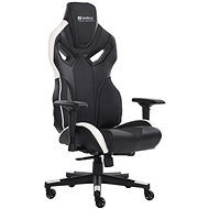 Sandberg VOODOO, černo-bílá - Herní židle
