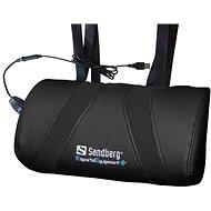Sandberg Game USB Massage Pillow Black - Massage Pillow